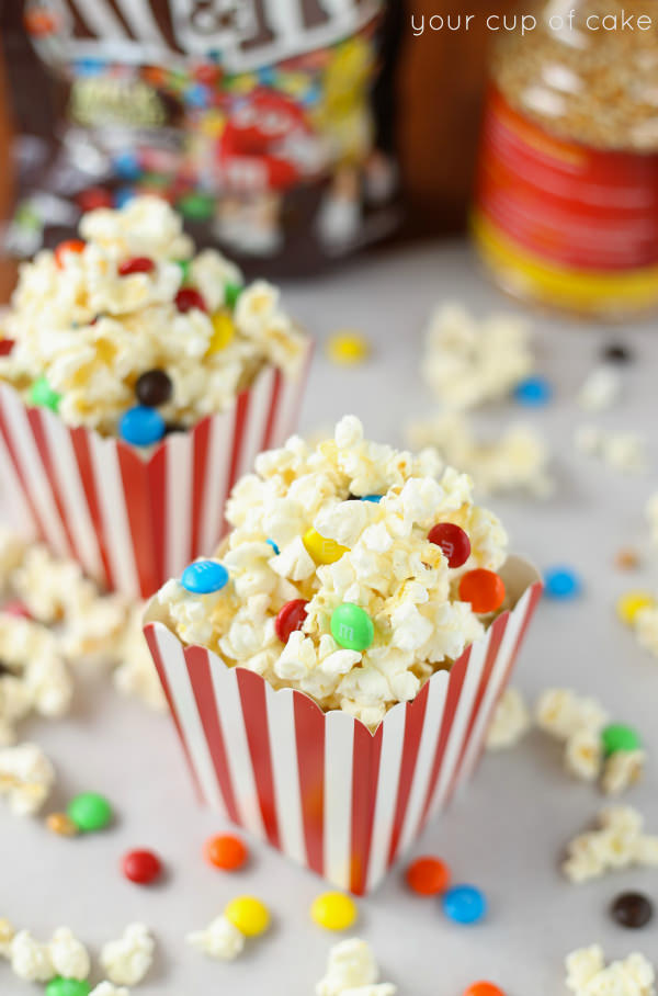 Movie Popcorn with candy