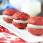 Oreo Red Velvet Cookie Sandwiches