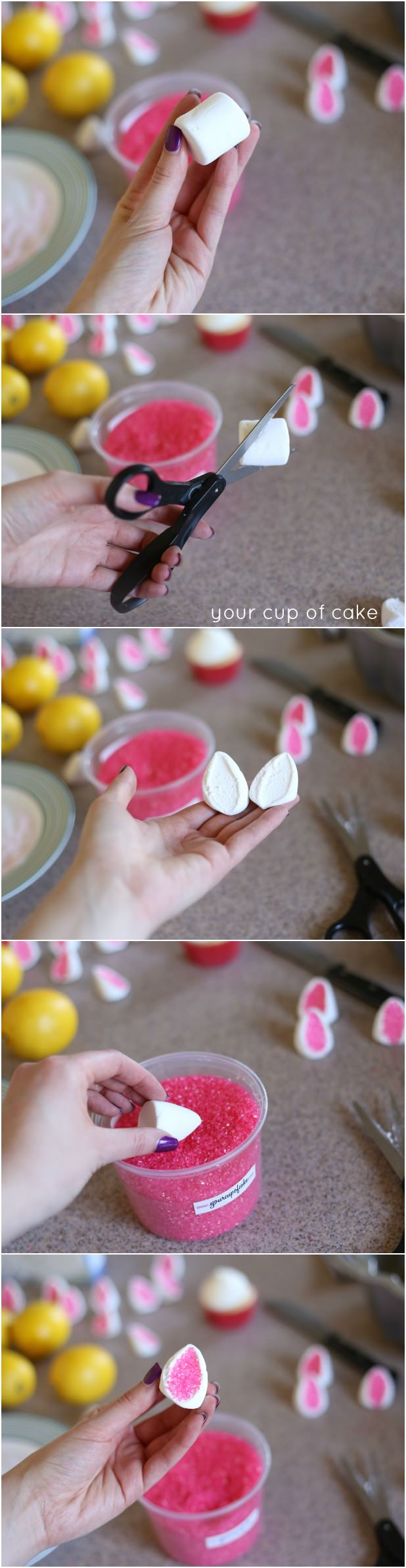 Marshmallow Bunny Ears for Easter