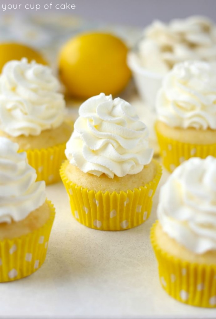 Lemon White Chocolate Cupcakes | Your Cup of Cake | Bloglovin'