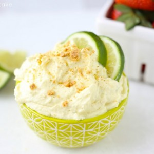 Easy Key Lime Pie Fruit Dip