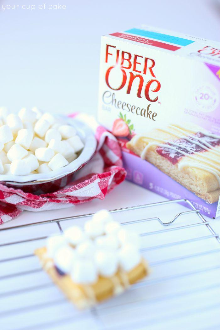 Desserts with FIber One