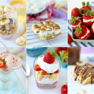 Desserts with FiberOne Cheesecake Bars