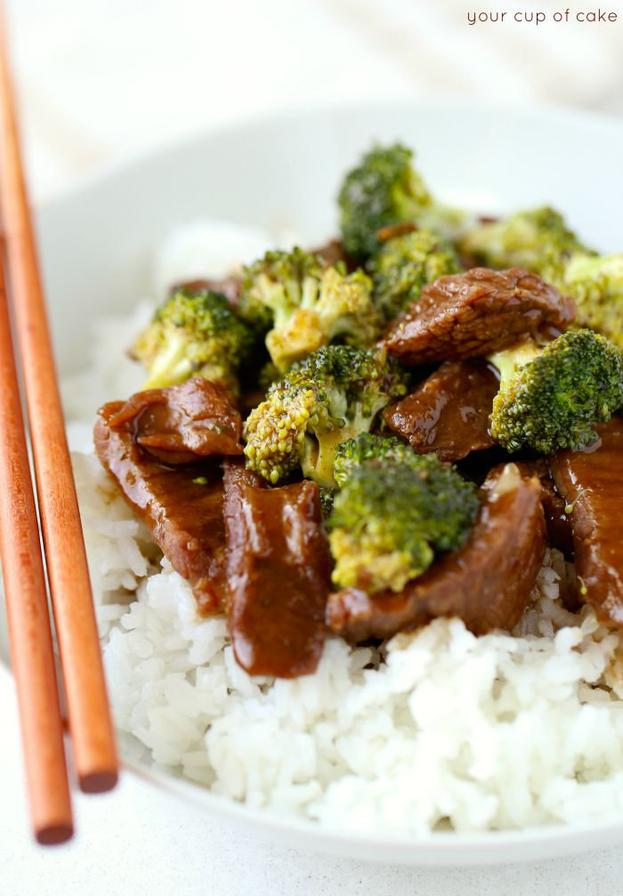 This Beef and Broccoli is better than take-out! And it's made in a slow cooker--so easy!