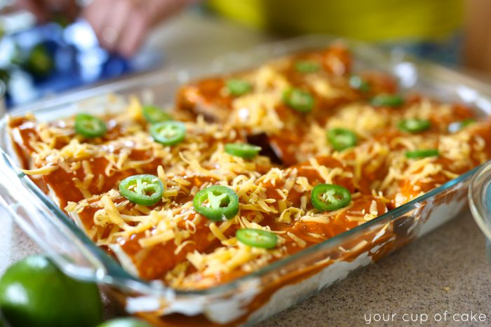 The best enchiladas to make at home, easy and delicious!