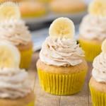 Banana Snickerdoodle Cupcakes