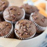 Low Fat Chocolate Mini Muffins