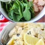 One Pot Cheesy Chicken Lemon Pasta