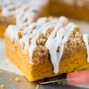 This Pumpkin Coffee Cake is the most amazing thing ever!