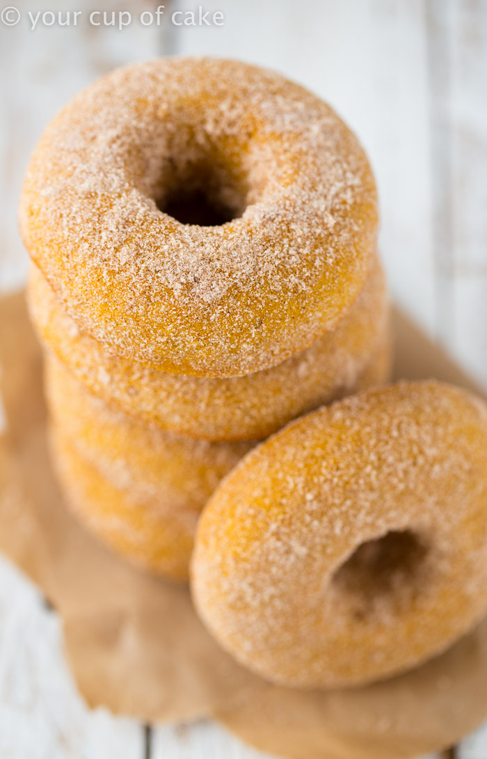 Baked Pumpkin Doughnuts, these are the BEST!