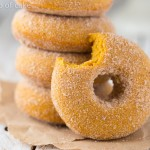 Pumpkin Doughnuts and a KitchenAid Mixer Giveaway!