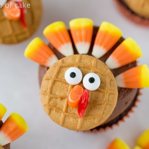 Thanksgiving Turkey Cupcakes! So cute and perfect for the kids!