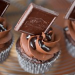 Ghiradelli Cherry Cupcakes and Game Day Party ideas!