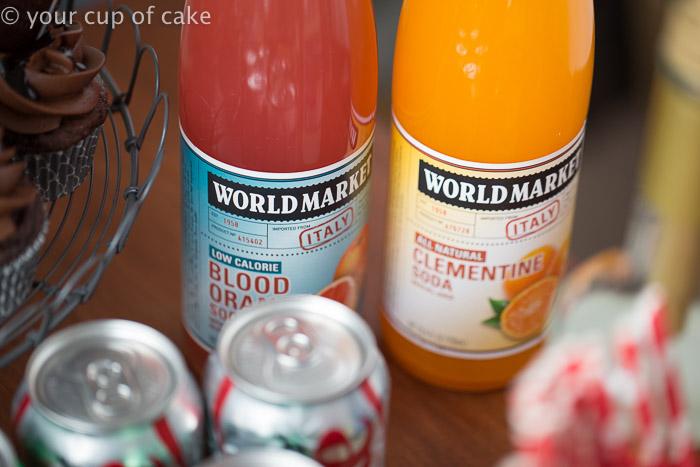 World Market Sodas