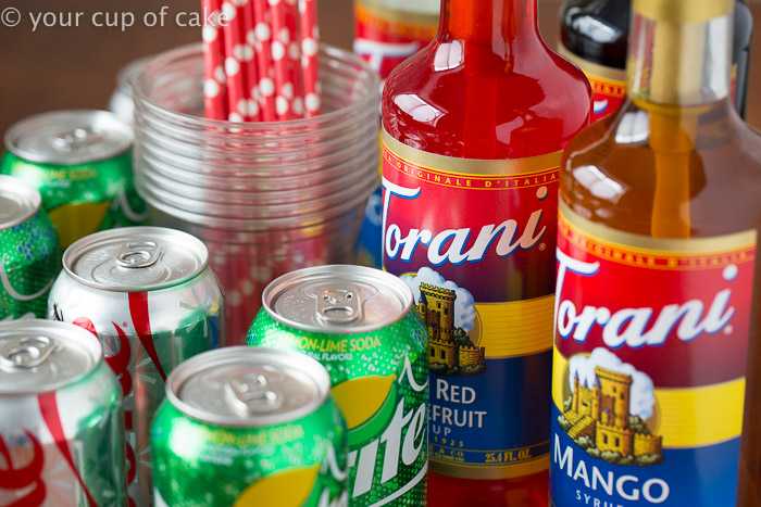 Flavored Sodas like Dirty Diet Cokes