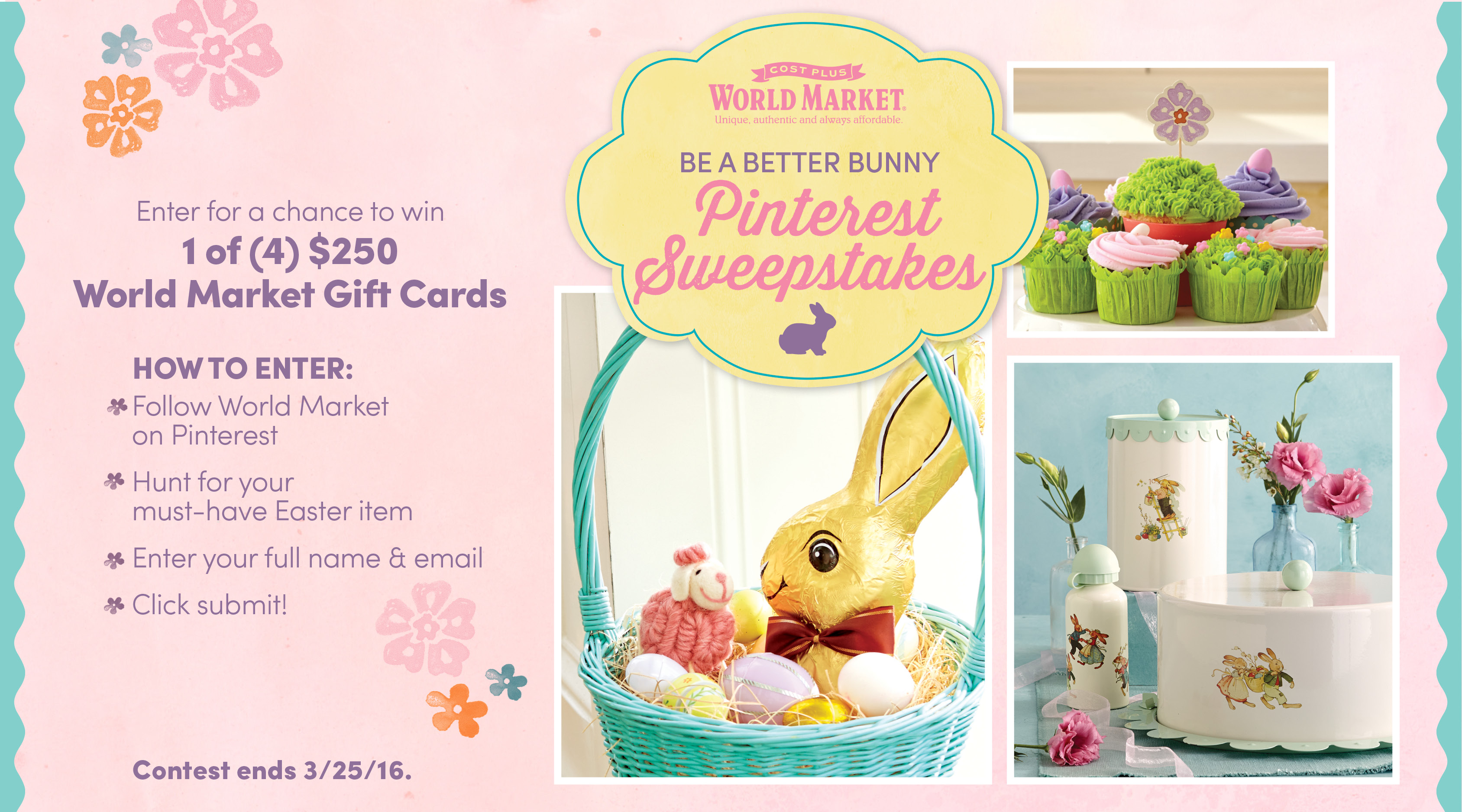 Easy easter cupcake decorating and decor your cup of cake wk2eastersweeps3 negle Images