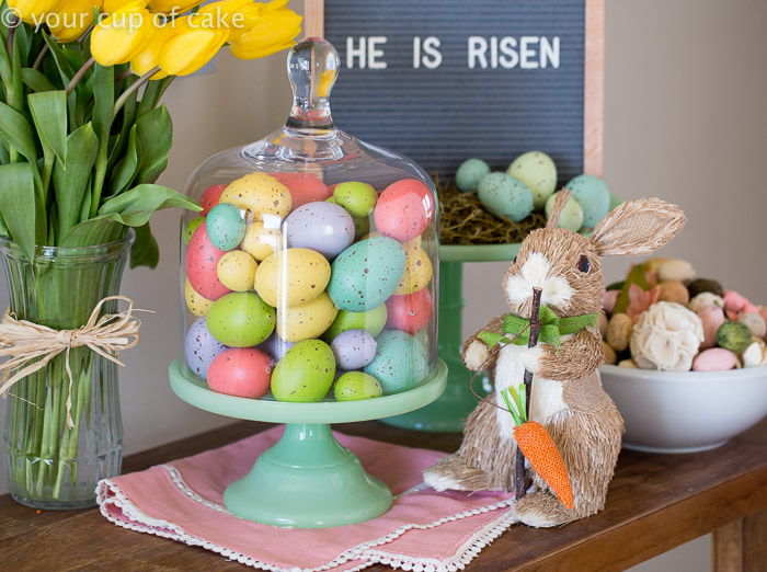 Easter Decor, so cute!