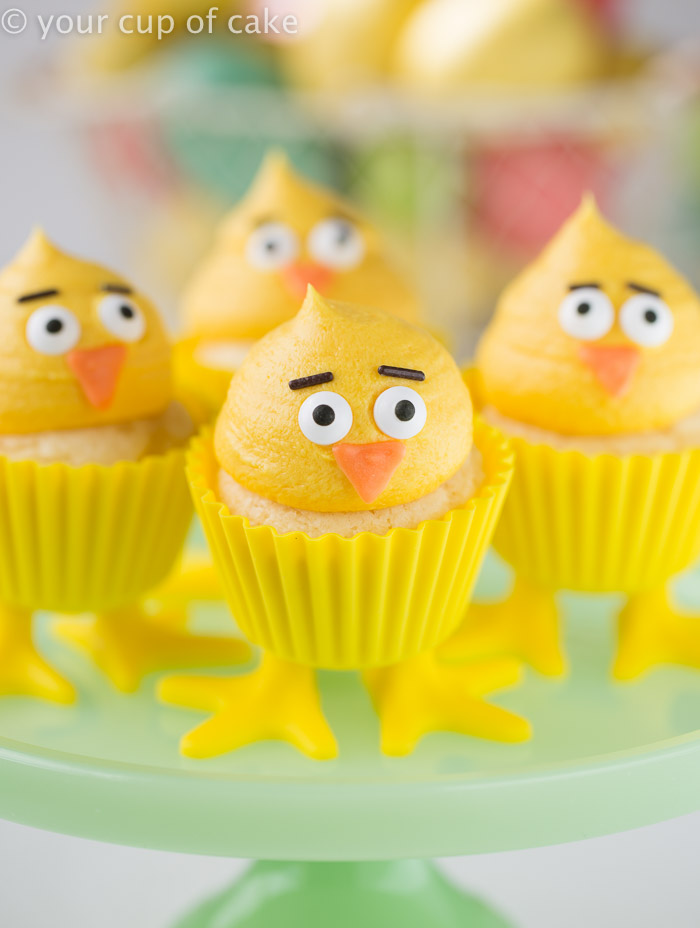Chick Cupcakes, so adorable!