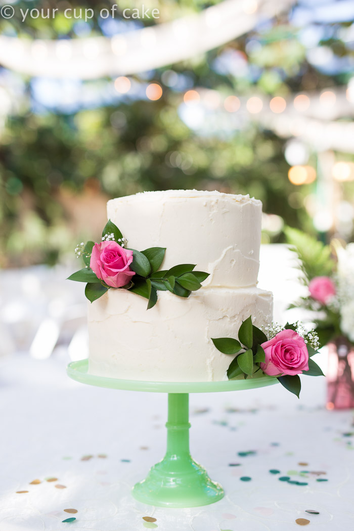 How to Make a Wedding Cake Your Cup of Cake