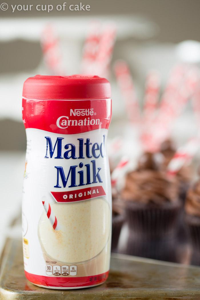 Baking with malted milk powder