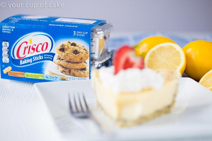 Lemon Cream Pie with Poppy Seed Crust Recipe