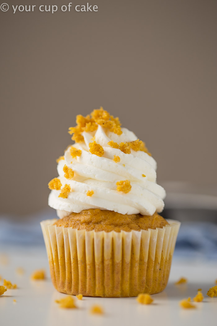 Easy Peazy Pumpkin Cupcakes Your Cup Of Cake