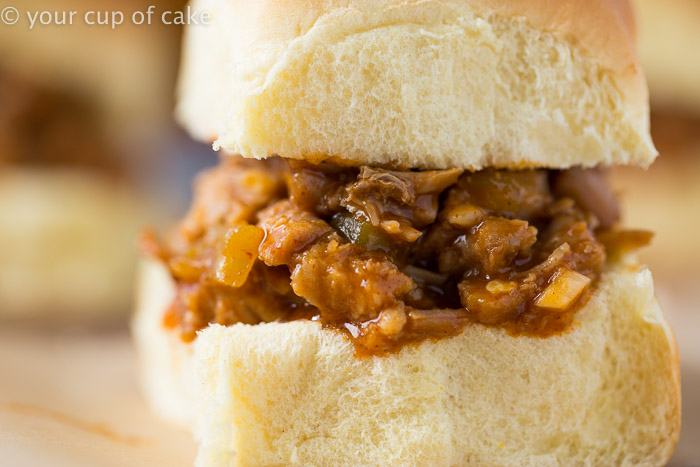 Sweet Pulled Pork Sliders