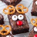 Easy Rudolph Brownies