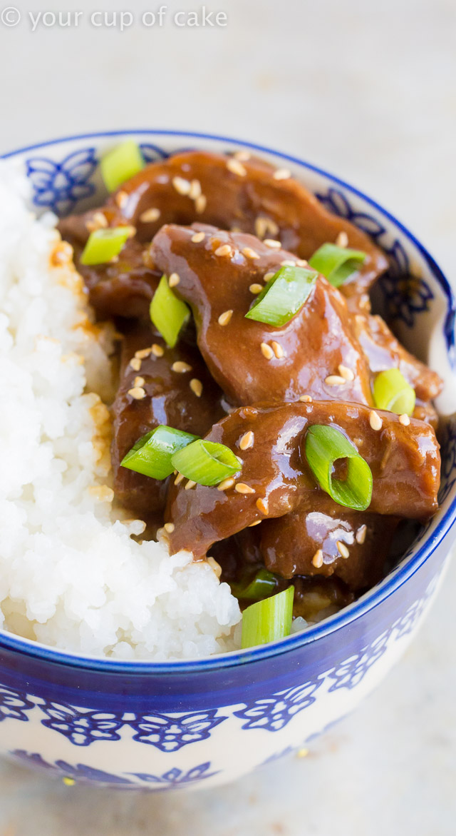 Crock Pot Mongolian Beef that's better than takeout!