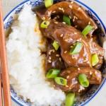 Crock Pot Take-out Mongolian Beef