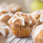Apple Snickerdoodle Muffins for Fall
