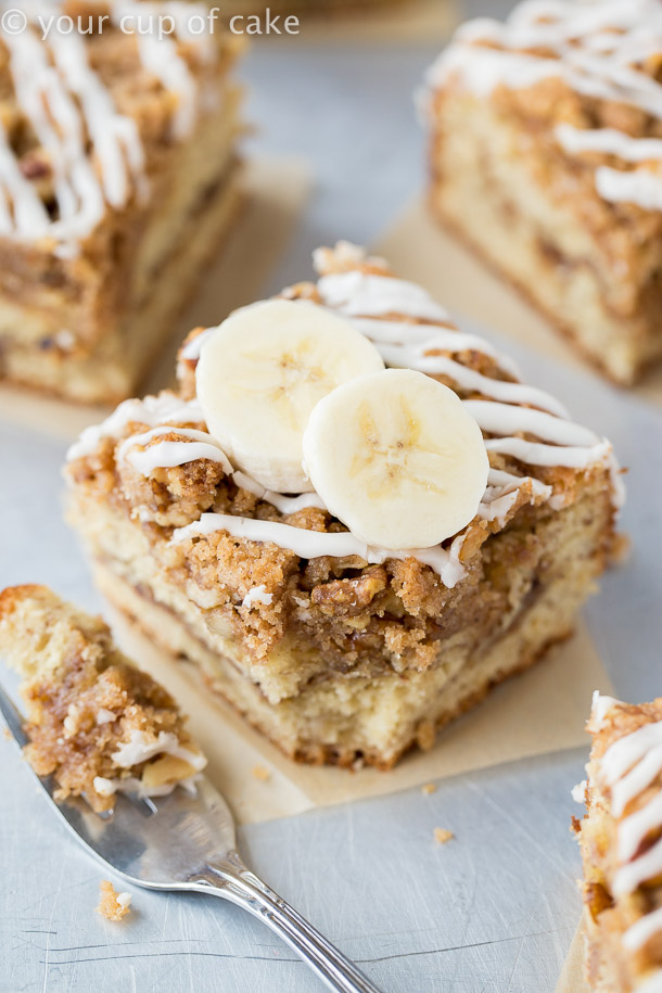 Banana Bread Coffee Cake Recipe