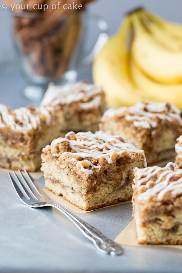 Yummy Banana Bread Coffee Cake