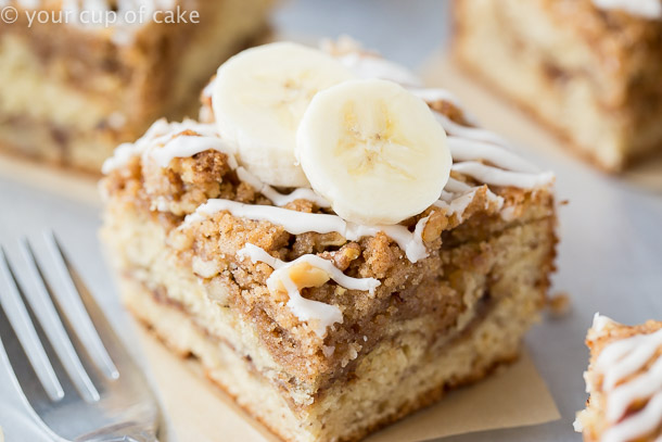 Starbucks Banana Bread Coffee Cake