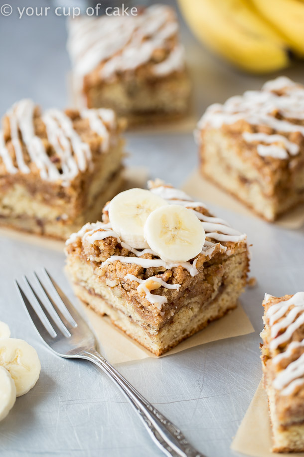 Tasty Banana Bread Coffee Cake