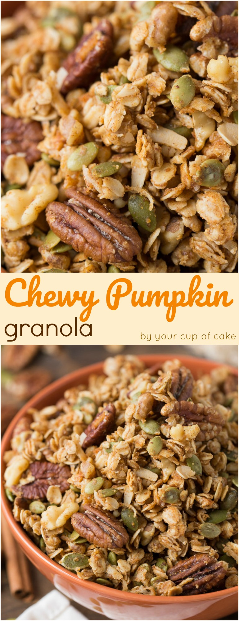The Best Chewy Pumpkin Granola