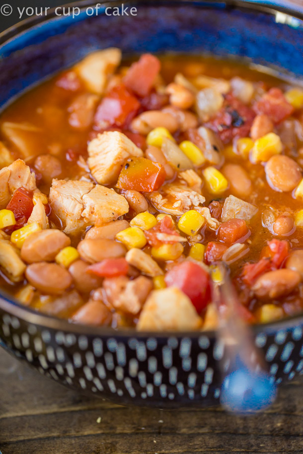 Easy to make BBQ Chicken Soup