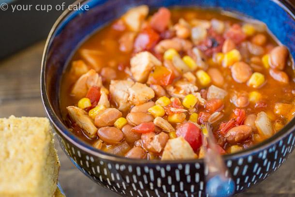 BBQ Chicken Soup recipe