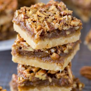 Better than your Mama's Pecan Pie Bars The best Pecan Pie Bars