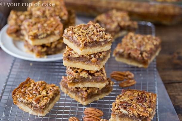 Better than your Mama's Pecan Pie Bars this recipe is the best