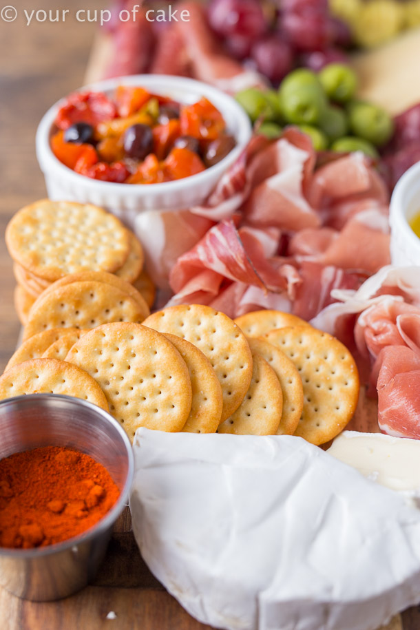How to make a party cheese platter