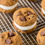 Pumpkin Cream Cheese Sandwich Cookies