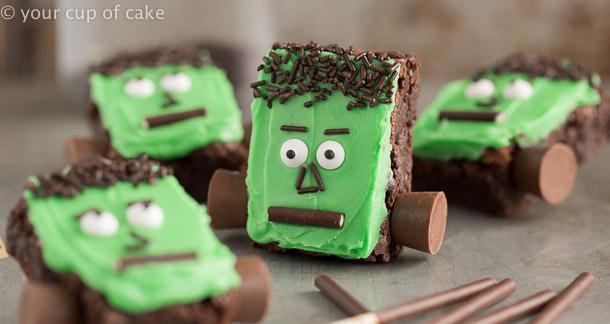 Halloween Brownies have arrived Frankenstein Brownies