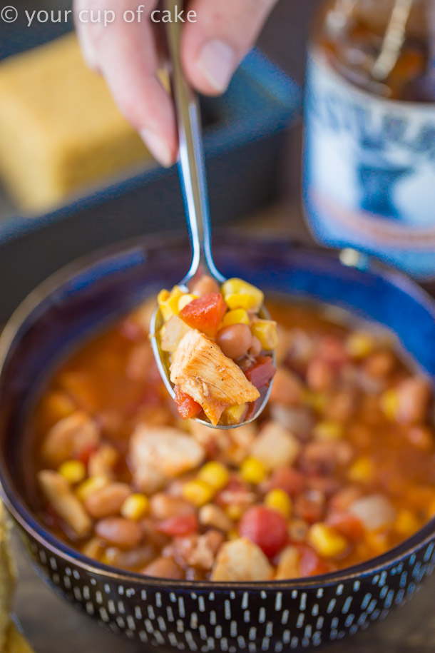 BBQ Chicken Soup, this is one of my FAVORITE recipes!