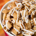 Gingerbread Chex Mix (gluten free, no-bake recipe)