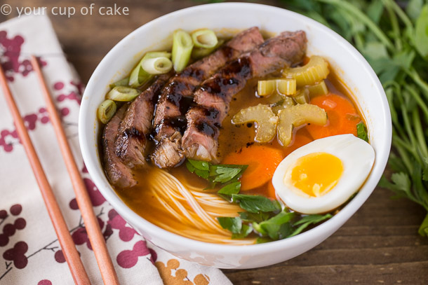 Japanese Noodle Bowls, so tasty and perfect for cold winter days!