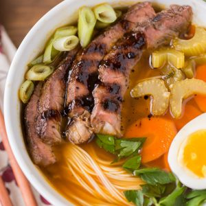Authentic Japanese Noodle Bowls