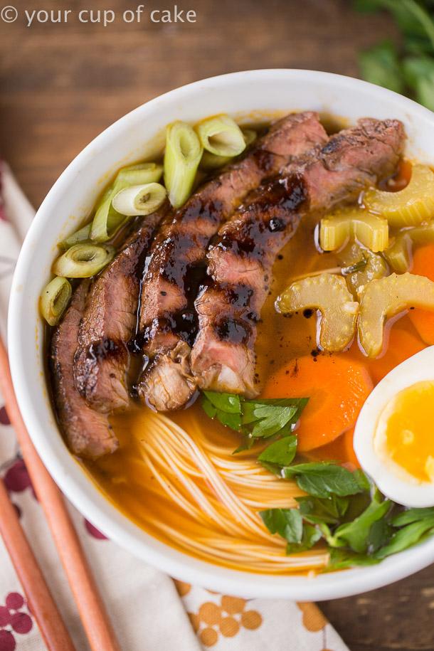 Authentic Japanese Noodle Bowls