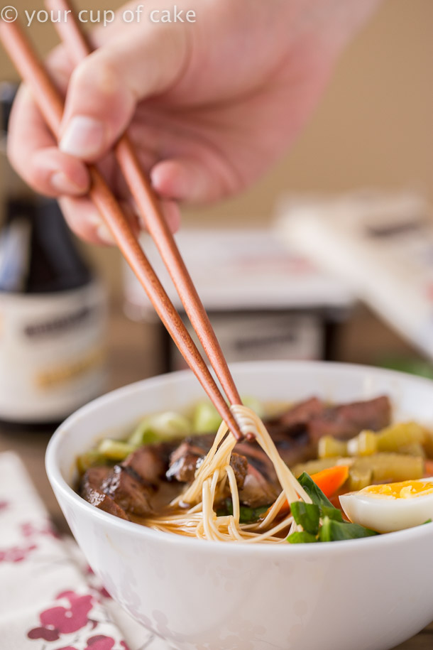 How to make Japanese Noodle Bowls