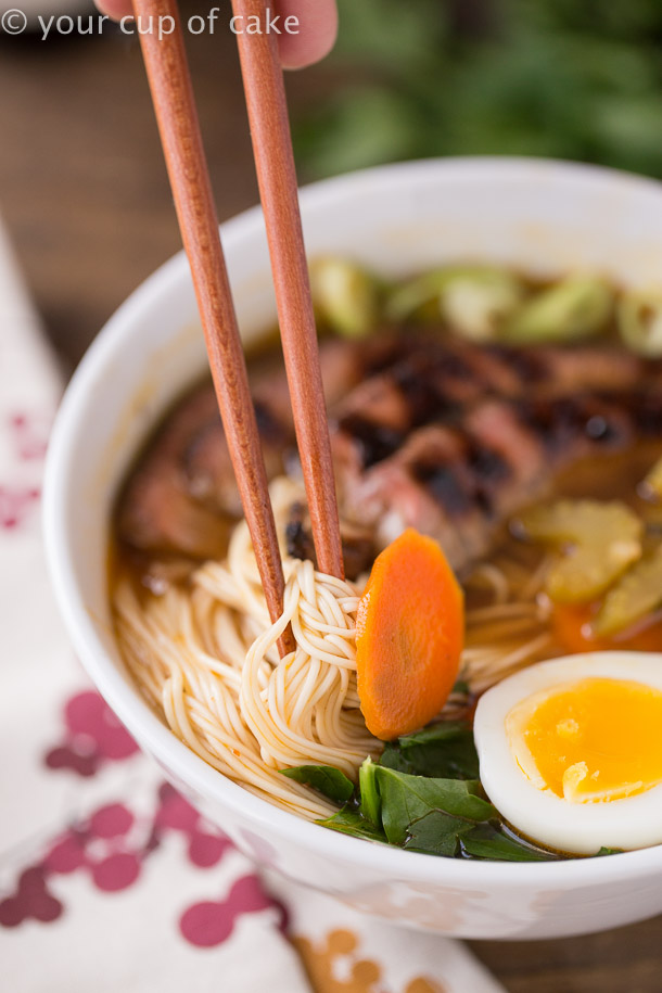 The most amazing recipe for Japanese Noodle Bowls